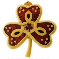 Irish Shamrock Wall Hanging
