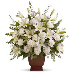 Serenity Sympathy Flowers Tribute