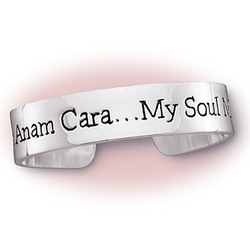 'Mo Anam Cara...My Soul Mate' Bangle