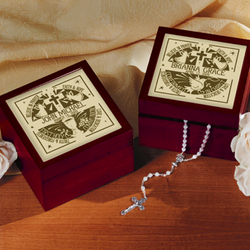 Personalized Communion/Confirmation Tile Box