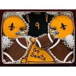 Go Saints Cookie Gift Tin