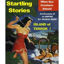 Island of Terror Vintage Poster