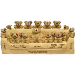 Father's Sofa for Up to 18 Family Bears