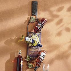Salles Wall-Mounted Wine Rack