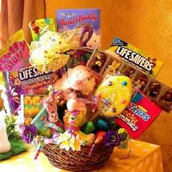 Bunny Mega Treat Gift Basket