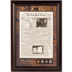 The New York Times of Your Birthday Framed Front Page