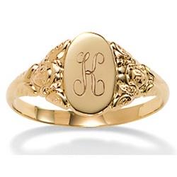 10k Gold Signet Ring