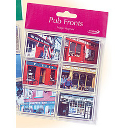 'Places in Ireland' Pub Fronts Magnets