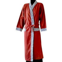 Cherry Tea Cotton Robe