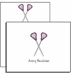 Personalized Lacrosse Everyday Notes