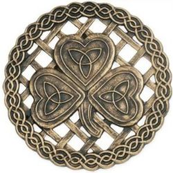 Celtic Shamrock Stepping Stone