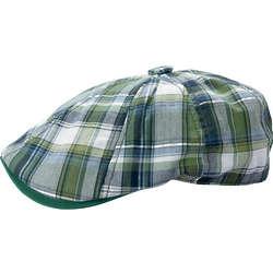 Plaid Irish Cap