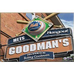 New York Mets MLB Baseball Personalized 16x24 Pub Sign Print