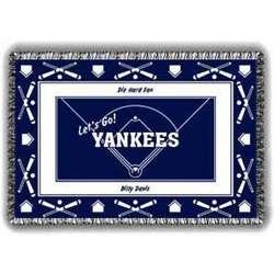 Fanatic Yankees Tapestry Throw