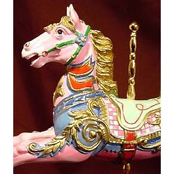 18th Century English Replica Carousel Horse Musical Figurine