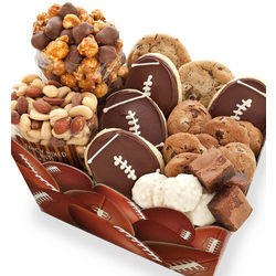 Football Cookies and Snacks Box