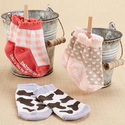 Barnyard Booties Infant's Farm Fun Socks Set