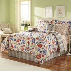 Megan Complete King Bedding