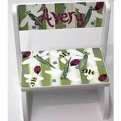 Personalized Bugs Step Stool