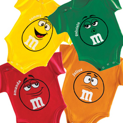 Personalized M&M T-Romper