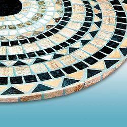 Tuscan Tile Print Table Cover