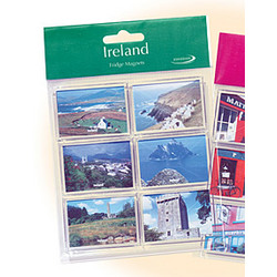 'Places in Ireland' Countryside Scenes Magnets