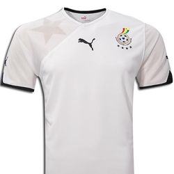 Ghana World Cup 2010 Home Jersey