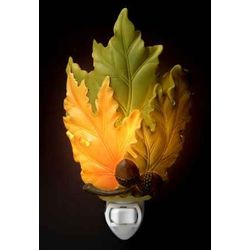 Fall Leaves Night Light