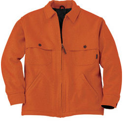 Men's Orange Lined Stag Jacket