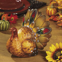 Turkey with Mosaic Accents