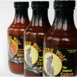 Howling Wolf Gourmet Barbeque Sauce Trio