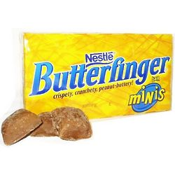 Butterfinger Mini Bars Theater Size Boxes