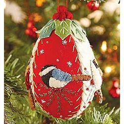 Felt Birds Ornament
