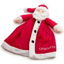 Personalized Santa Snuggler Security Blanket