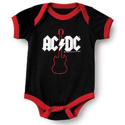 AC/DC Baby Bodysuit