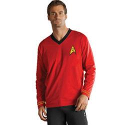 Star Trek Pajamas in Red Security
