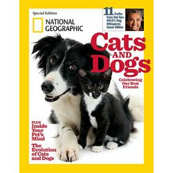 National Geographic Magazine: Cats and Dogs Special Issue