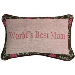 World's Best Mom Pillow