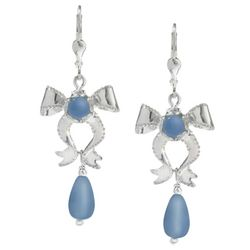 Perfect Presence Blue Chalcedony Earrings
