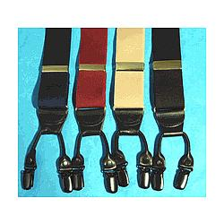 Vintage Brace Look Suspender with Hold-Up Clips