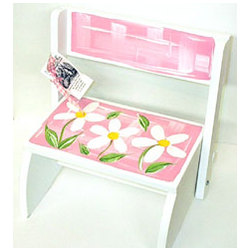 Personalized Daisy Step Stool