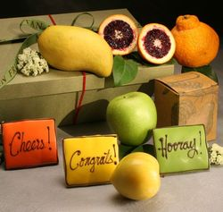 Congratulations Fresh Fruit Hamper