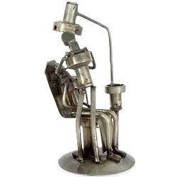 Rustic Dentist Iron Statuette