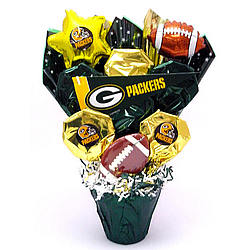 Green Bay Packers Cookie Pot Bouquet