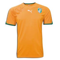 Ivory Coast World Cup 2010 Home Jersey