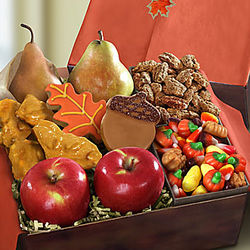 Autumn Harvest Fruit and Sweets Gift Box