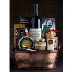 Fallbrook Winery Red Wine Gift Basket