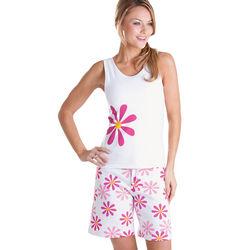 Fuchsia Daisy Tank & Short Pajamas