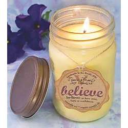 Believe Handmade Soy Candle