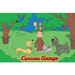 Curious George Rug
